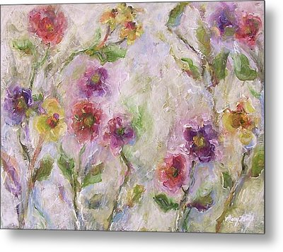 Bloom Metal Print by Mary Wolf