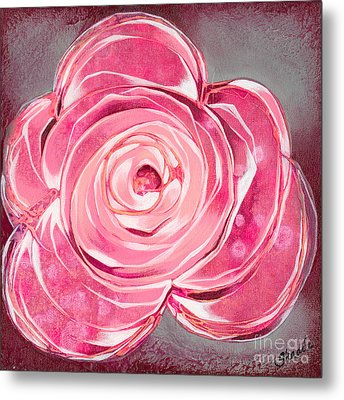 Bloom V Metal Print by Shadia Derbyshire