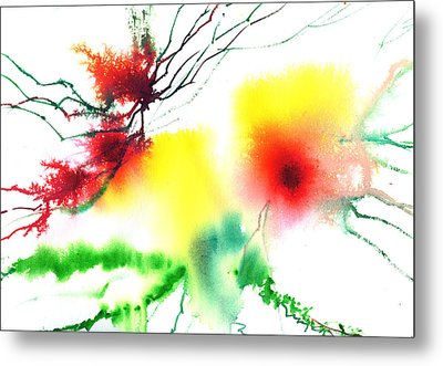 Blooms 3 Metal Print by Anil Nene