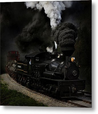 Blow That Whistle Metal Print by Chuck Gordon