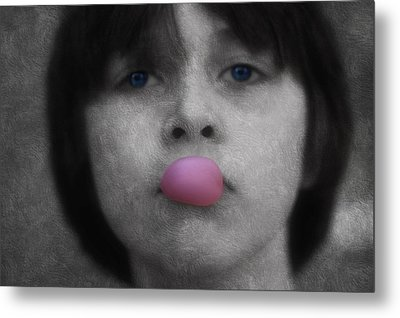 Blowing Bubbles Metal Print by Melanie Lankford Photography