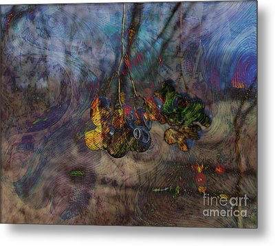 Metal Print featuring the photograph Blowin'in The Wind by Kathie Chicoine