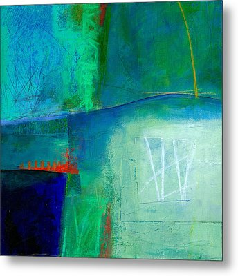 Blue #1 Metal Print by Jane Davies