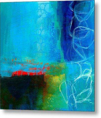 Blue #2 Metal Print by Jane Davies