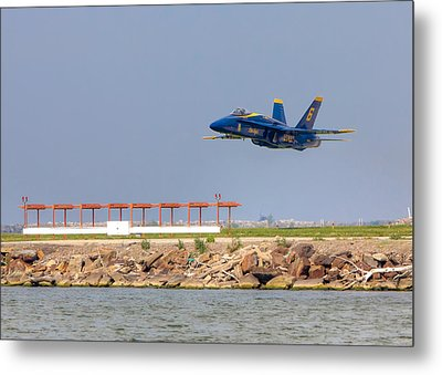 Blue Angel Metal Print by Brent Durken