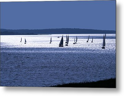 The Blue Armada Metal Print