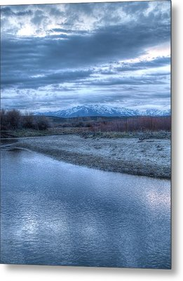 Metal Print featuring the photograph Blue Before The Sun by Jenessa Rahn