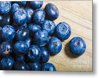 Blue Berries  Metal Print