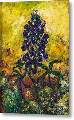 Blue Bonnet Metal Print