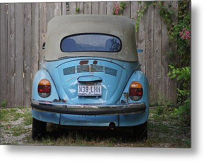 Blue Bug Metal Print