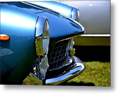 Blue Car Metal Print by Dean Ferreira