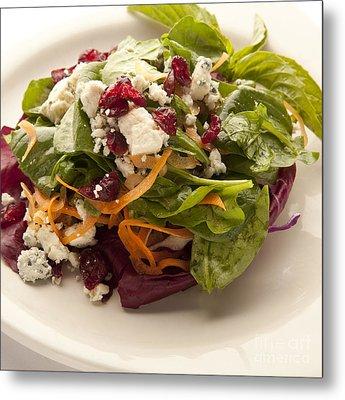 Blue Cheese Salad Metal Print by New  Orleans Food