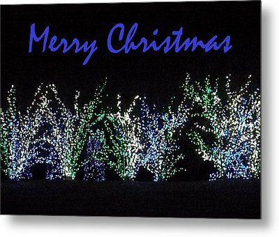 Blue Christmas Metal Print by Darren Robinson