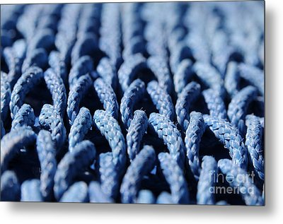 Blue Metal Print by Dan Holm