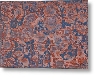 Blue Metal Print by Darice Machel McGuire