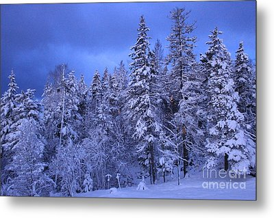 Blue Dawn Metal Print