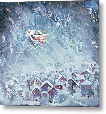 Blue Dream, 1983 Oil On Canvas Metal Print