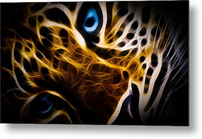 Blue Eye Metal Print by Aged Pixel