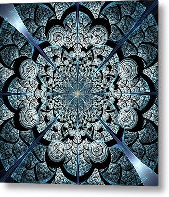 Blue Gates Metal Print by Anastasiya Malakhova