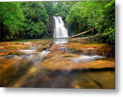 Blue Hole Falls Metal Print by Scott Moore
