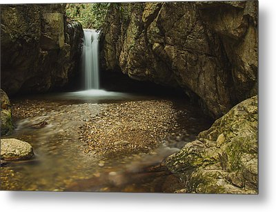 Blue Hole Metal Print