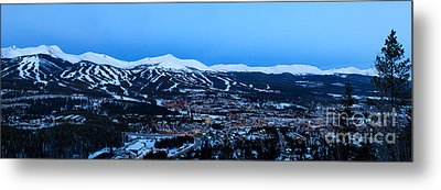 Blue Hour In Breckenridge Metal Print by Ronda Kimbrow