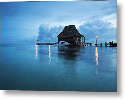 Blue Hour Landscape Metal Print