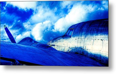 Blue Hudson Metal Print by motography aka Phil Clark