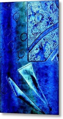 Blue I Metal Print