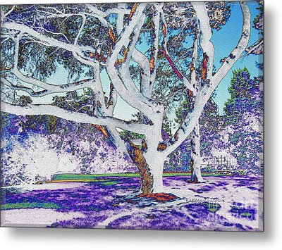 Metal Print featuring the photograph Blue Ice by Kathie Chicoine
