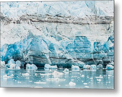 Blue Ice Metal Print by Melinda Ledsome