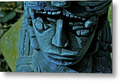 Blue Idol Metal Print