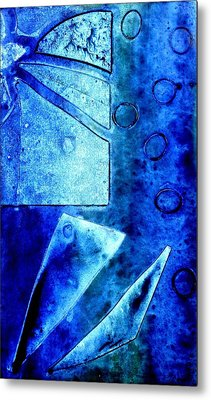 Blue   II Metal Print by John  Nolan