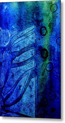 Blue  IIi  Metal Print