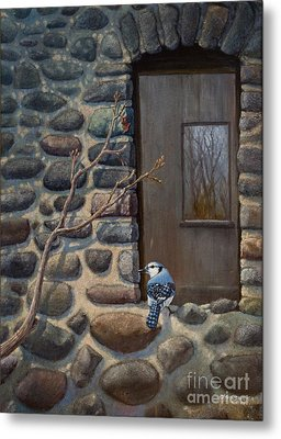 Blue Jay Metal Print by Rob Corsetti
