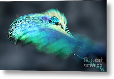 Blue Jewel Metal Print