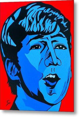 Blue  John Lennon Metal Print