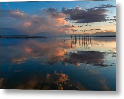 Blue Lagoon. Valencia Metal Print