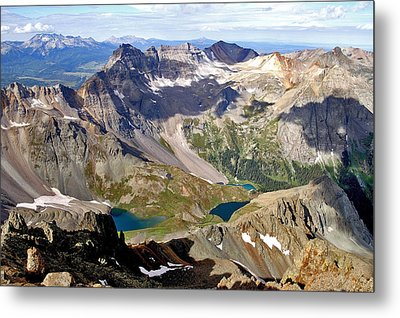 Blue Lakes Beauty Metal Print by Jeremy Rhoades