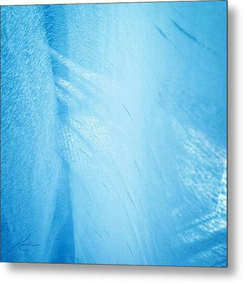 Blue Linen Sunshine Metal Print