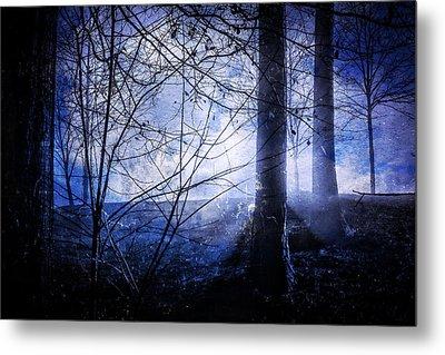 Blue Mist Metal Print