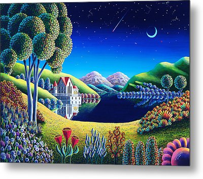 Blue Moon 6 Metal Print by Andy Russell