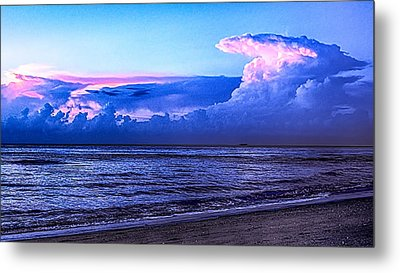 Blue Morning Metal Print by Don Durfee