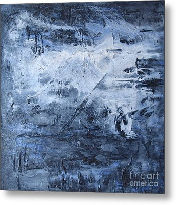 Blue Mountain Metal Print by Susan  Dimitrakopoulos