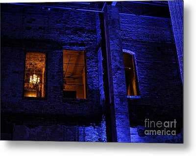 Blue Night Metal Print by Kate Purdy