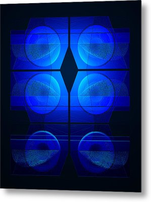 Blue Night Metal Print by Steve Godleski