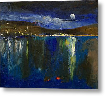 Blue Nocturne Metal Print by Michael Creese