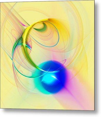 Blue Note Metal Print by Anastasiya Malakhova