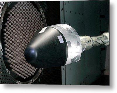 Blue Origin's Space Vehicle Testing Metal Print by Nasa/blue Origin