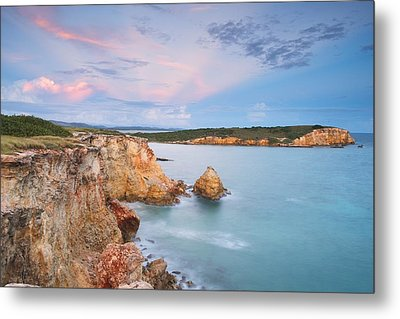 Blue Paradise Metal Print by Photography  By Sai